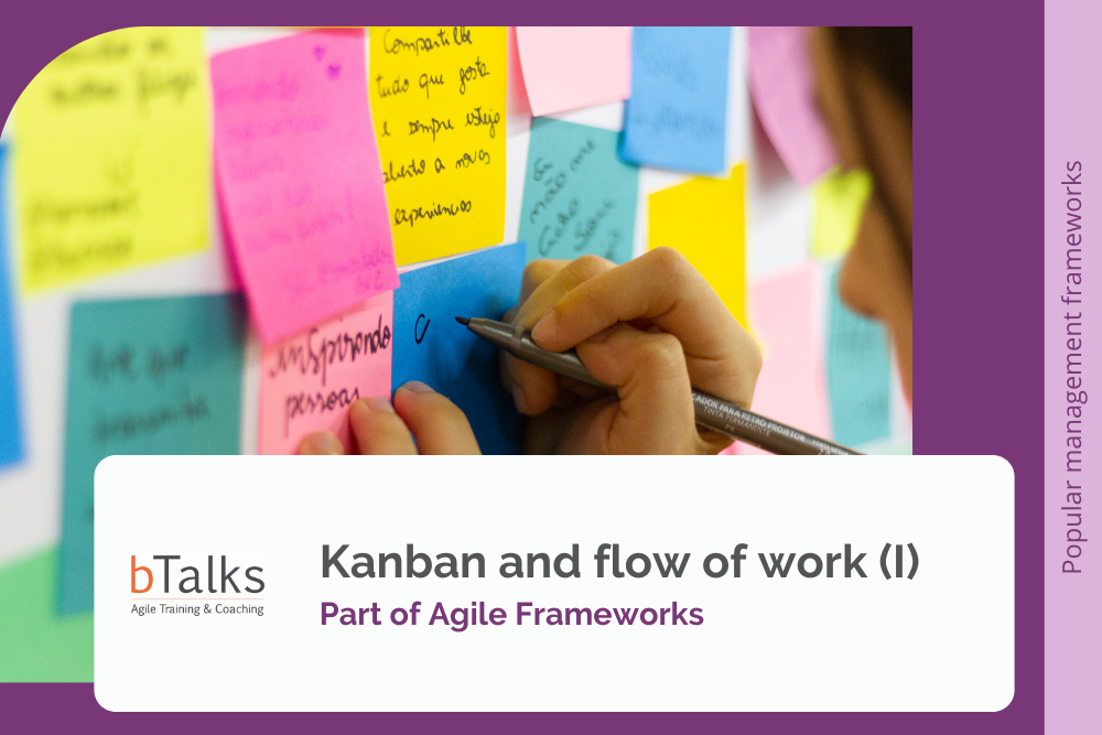 Kanban and flow of work